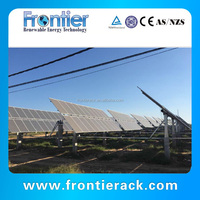 Hot easy installation Horizontal Single-axis Solar Tracking System