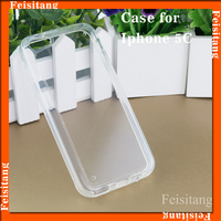 PC transparent phone case TPU soft mobile phone protective case for iphone 5C