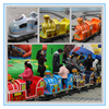 Railway railroad train rail travel electric train for kids park