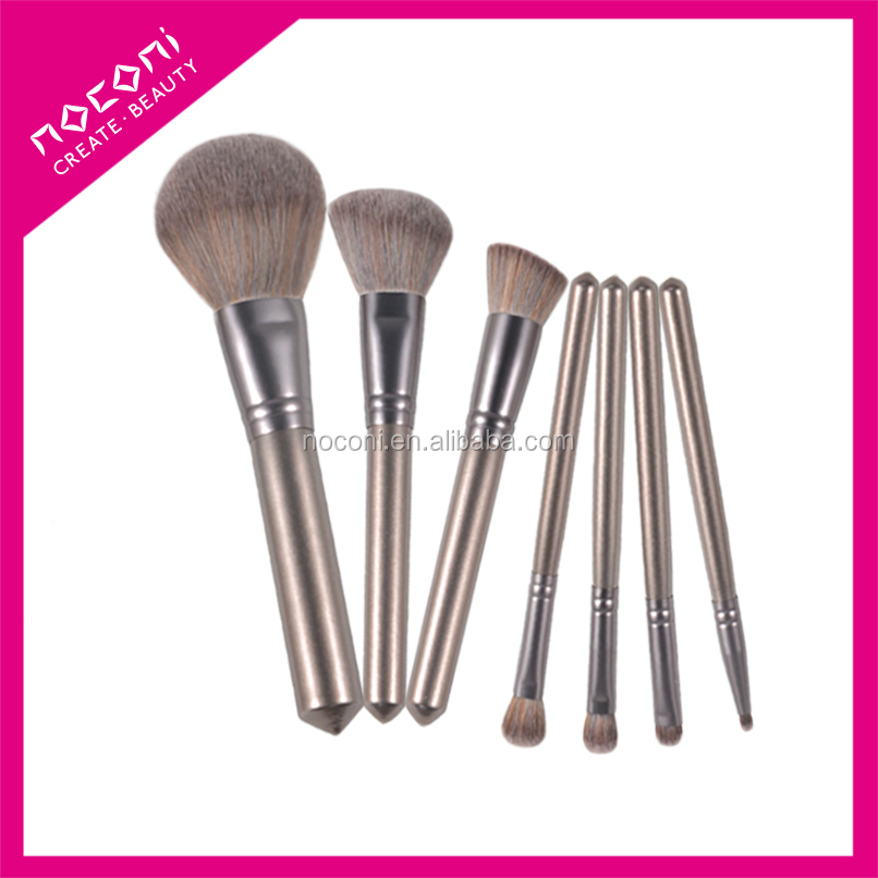 Guangzhou fashional women beauty tools travel magnetic 7pcs makeup brush with OEM