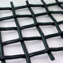 Rugged and tough 65Mn crimped wire mesh for mining