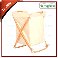 bamboo laundry hamper with removable canvas bag delicate laundry bag