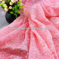 48 inch big mesh embroidery lace fabric for wedding /popular /best price