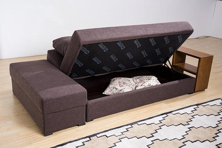 Modern Round Multi Purpose Storage German Sofa Bed With