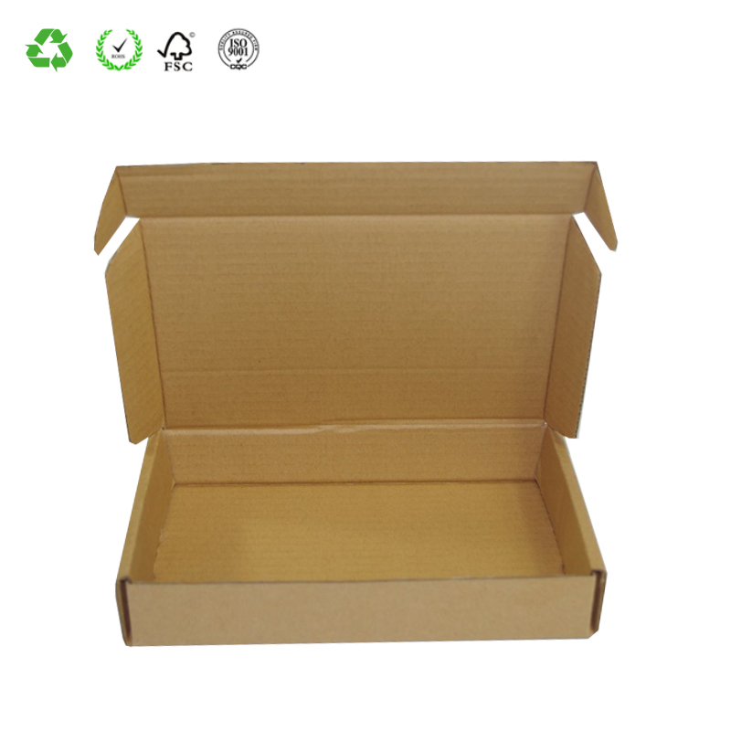 2 Layer Foldable Corrugated Lid And Base Shipping Box