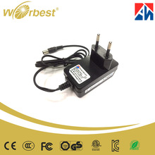 12Vdc 0.5a 12w AC DC Power Supply Adapter EU Plug Power Adapter