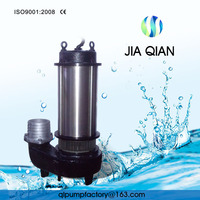 3 Phase Drainage Treatment 7.5hp Submersible Water Pump