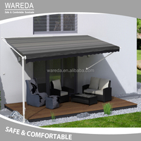 vinyl vertical pation awning