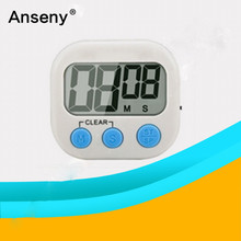 Cute ABS large LCD house indoor Kitchen digital timer/electronic countdown timer
