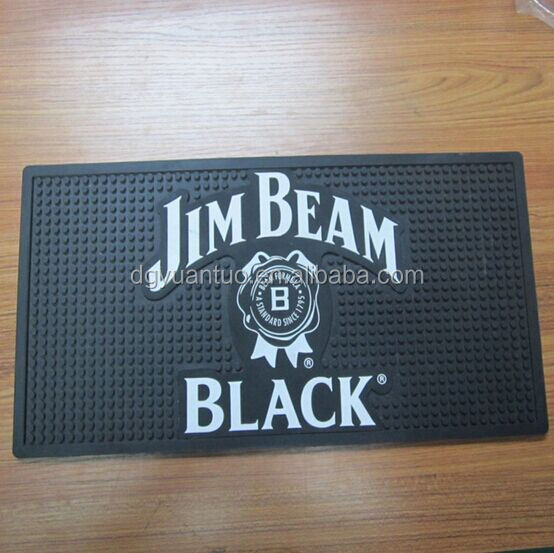 JIM BEAM Anti Slip Wine rubber Bar Mat