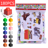 180 PCS preschool educational toys connecting large toy plastic building blocks for kids