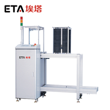 SMT assembly line automatic PCB magazine unloader PCB conveyor