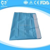 Hydrophilic non woven Waterproof Disposable Surgical Drape for ophthalmic and surgical use