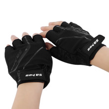 SAHOO GEL Pad Half Finger Cycling Gloves Summer Racing Luvas Para Ciclismo MTB Mountain Bike Bicycle Cycle Gloves