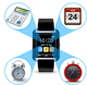 Wholesale the cheapest price 1.44 inch touch screen U8 smart watch sport portable pockersmart watch support sim card for ios