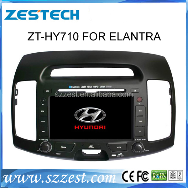 ZESTECH latest brand new car dvd for Hyundai Elantra dvd player with gps navigation year for 2006 2007 2008 2009 2010 2011