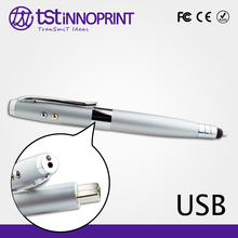 5 in 1 Promotional Custom Metal Business USB Flash Pen Drive