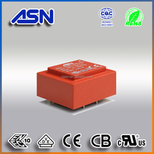 CE ROHS UL VDE approved Epoxy resin sealed Pcb Mount Encapsulated Transformer EI3005