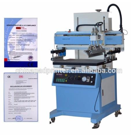 semi automatic flatbed screen printer screen printing machine for keyboard