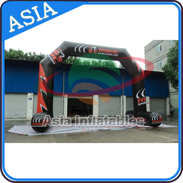 Cheap inflatable arch inflatable water arch for water advertising