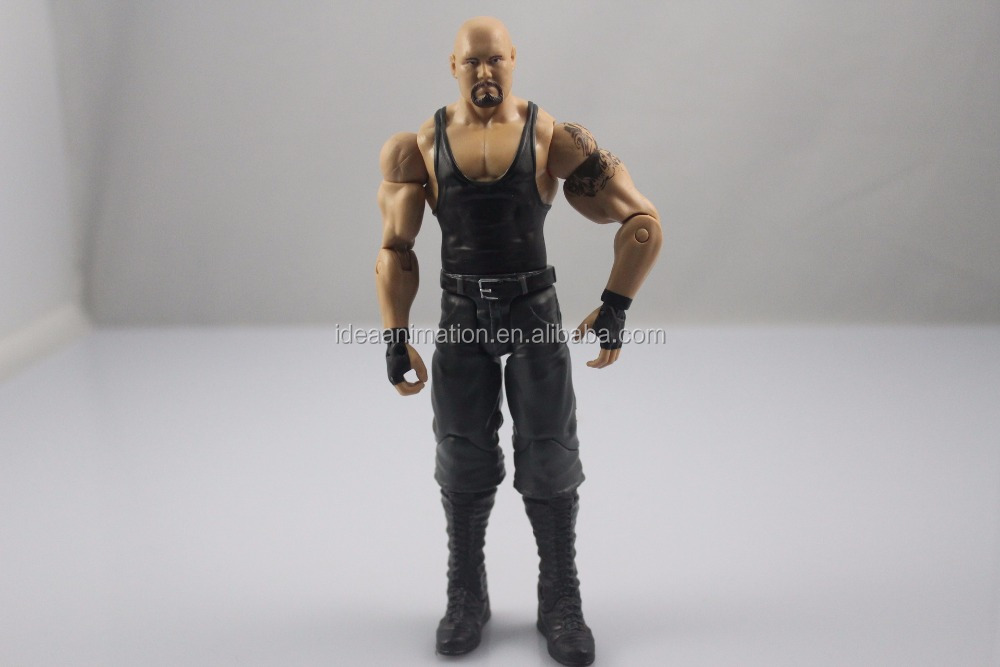 Oem custom pvc articulation movable WWE wrestling action figure toys