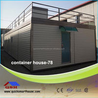 prefabricated wire inside wall for folding container house