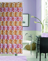 Fabric Shower Curtain Stock lots for US market