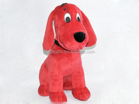 Red Long Ears Plush Toy Pug Dog