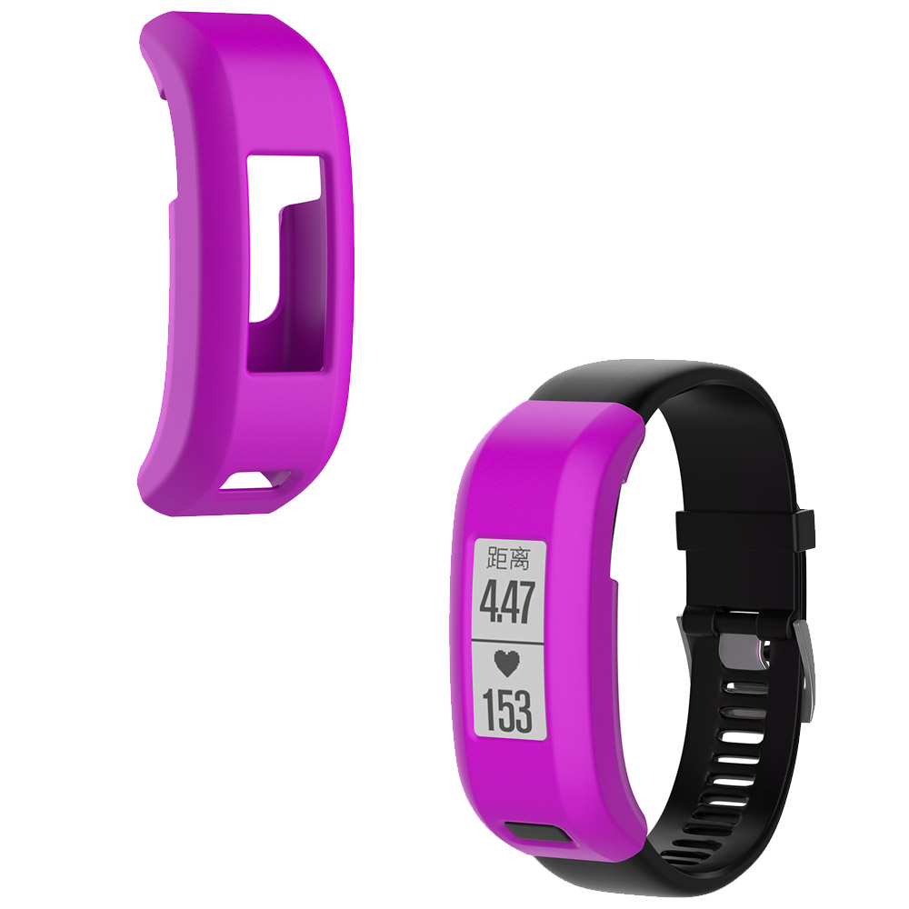 Tschick Premium Luxury Silicone Band Case Cover For Garmin Vivosmart HR