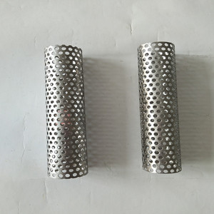 Punching filter pipe/stainless steel filter tube perforated cylindrical tubes