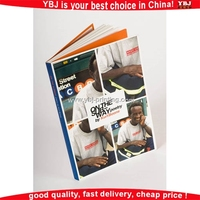Printing high quality nice price softcover photo album books