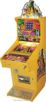 coin pusher electronic coin or bill operated pinball game machine for sale