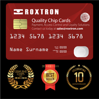 Chip Card for Payment, Access Control and Loyalty Solutions - Quality Cards by Roxtron