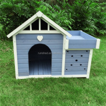 Designer wooden pet kennels Outdoor Dog House modular dog kennel Eco-Friendly