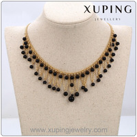 2016 Newest Arrival Fashion Beautiful Bead Jewelry, Lady's Pearl Necklace with 18k Gold Plated
