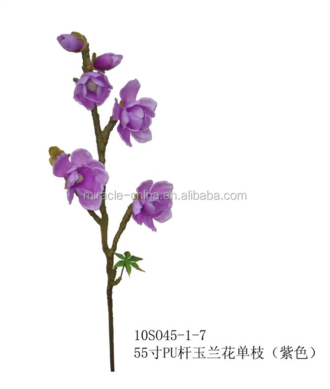 wholesale artificial magnolia ,single stem Magnolia artificial flower