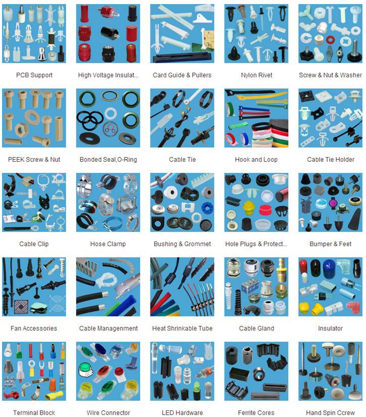 Auto clips and plastic fasteners Nylon Push Rivet Push In Rivet ...