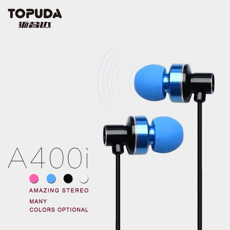 Christmas Gift 3.5mm Plug high quality in ear earphone for Mobile MP3 MP4
