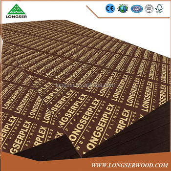 18mm dark brown film faced plywood for construction