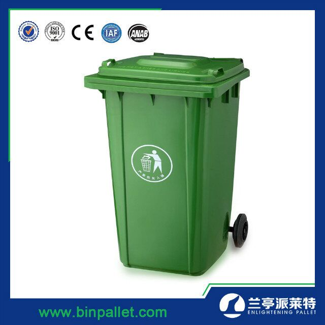 Factory Directly Provide Outdoor 240L Waste Bin Trolley