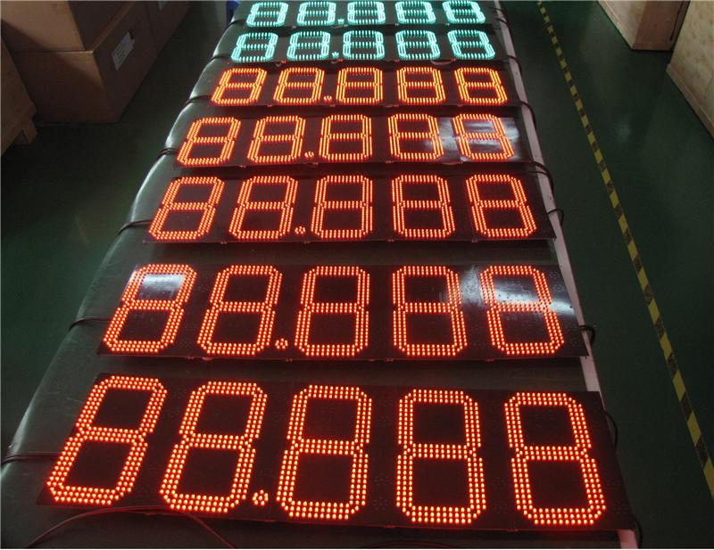 pylon sign with best price p10 outdoor single color led display module