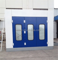 2015 CE Car Paint Booth / Spray Booth with Riello Burner and EPS Panel