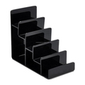 5-Layer Reinforcement Acrylic Shelf Wallet Purse Display Stand Mobile Phone Shell Rack Handbag Holder