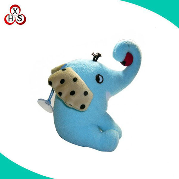 Hot sale home decoration blue mini elephant for wall decoration
