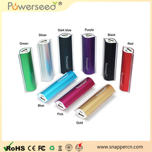 Good price portable 4000mah usb power bank mini so online shopping Blister packaging 18650 battery 2600mAh power bank