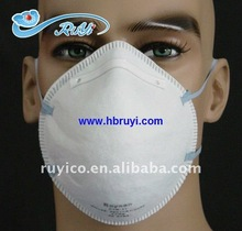CE FFP2 disposable dust mask / face mask respirator