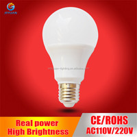 A60 A19 standard E27 9W LED bulb dimmable with triac dimmable led driver