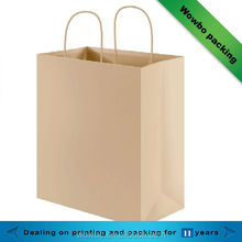 High quality Kraft paper handbag /hot sale kraft paper handbag