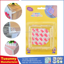 plastic corner guard / furniture corner portector / clear plastic wall protectors