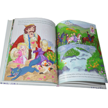 children hardcover coloring learning and reading book printing service
